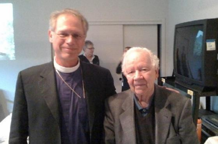 Bishop Mare Andrus with Terry McCaffrey